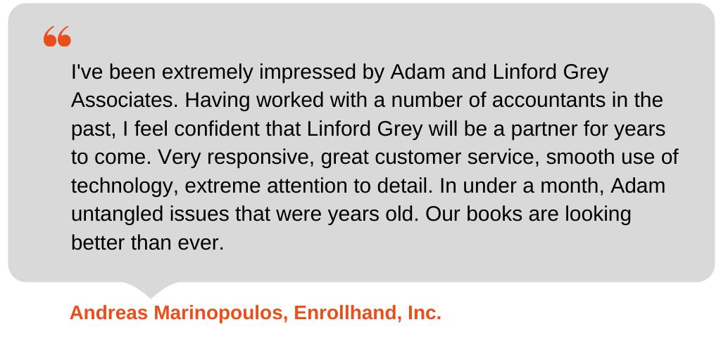 Testimonial from Enrollhand Inc